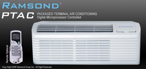 Ramsond 12000 Btu Ptac With 5000 W Electric Heater
