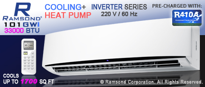 33000 BTU Inverter Mini Split