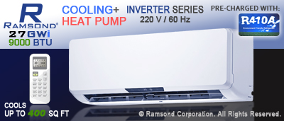 9000 BTU Inverter Mini Split