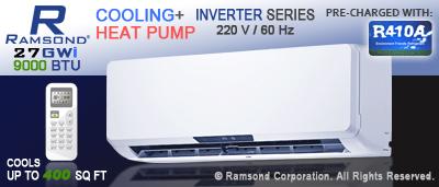 9000 BTU Inverter Mini Split