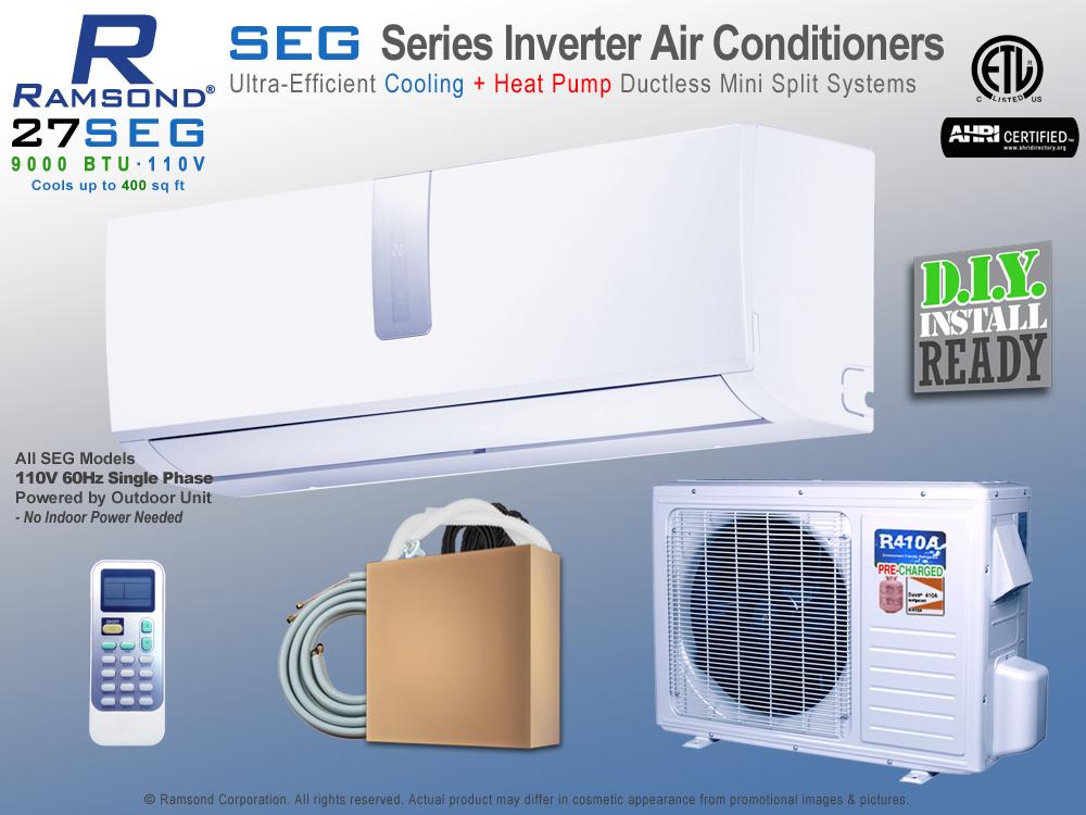ramsond 27seg inverter ductless mini split ac heat pump ramsond rh ramsond com Mirage Mini Split Air Conditioners Mini Splits Monterrey