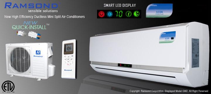 Ramsond® Model 37GW2 Ductless Mini Split Air Conditioner