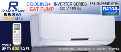 18000 BTU Inverter Mini Split