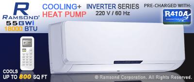 18000 BTU Inverter Mini Split