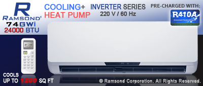24000 BTU Inverter Mini Split