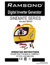 sinemate 1500 instruction manual