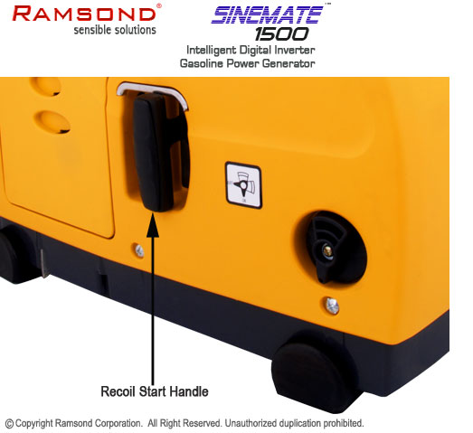 Sinemate 1500 recoil start