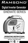 sinemate 2500 instruction manual