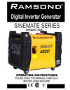 sinemate 4500 instruction manual