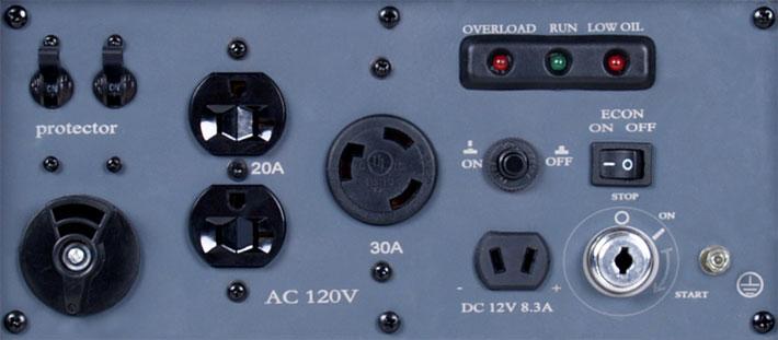 Sinemate 4500 Control Panel