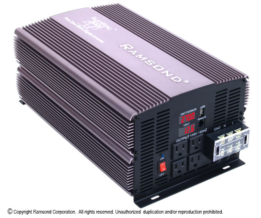 Ramsond SunRay Pure Sine Wave Inverter 3000 watt picture 1